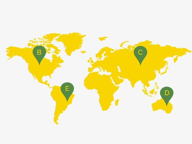 矢量世界地图
