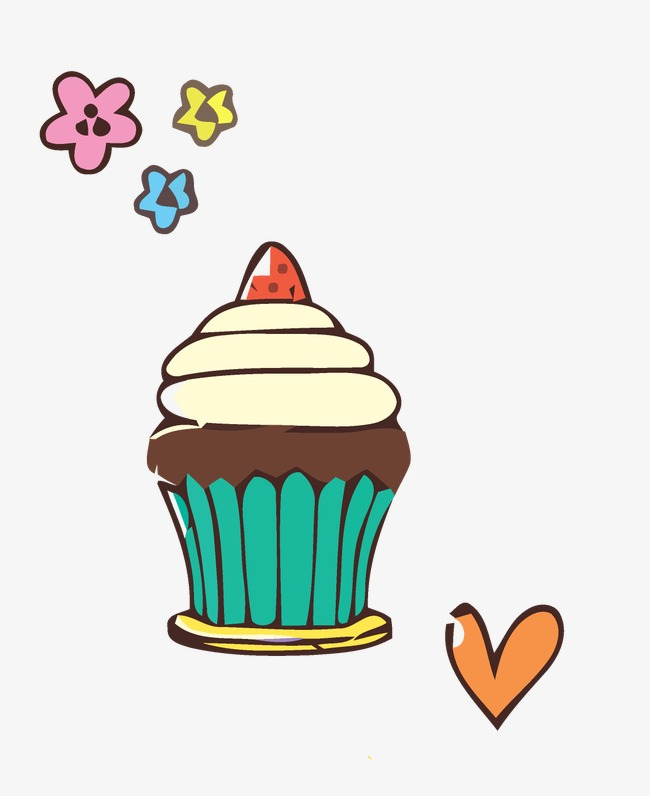 手绘卡通_手绘 蛋糕png素材-90设计图片