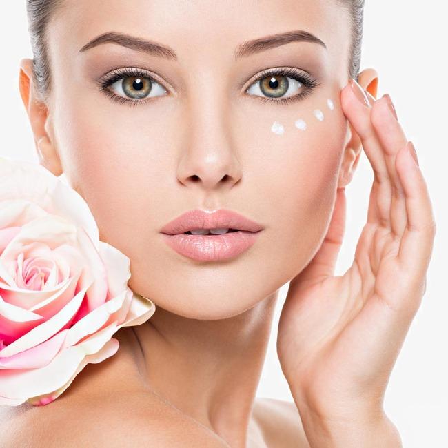 化妆品广告模特