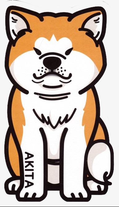 图片 > 【png】 卡通小柴犬  分类:手绘动漫 类目:其他 格式:png 体积