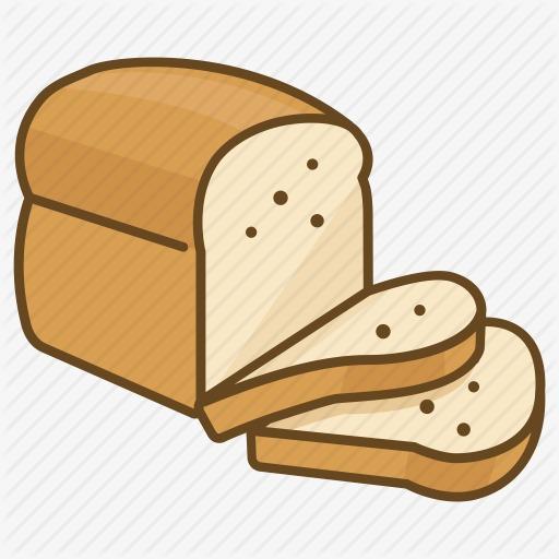 卡通面包图片