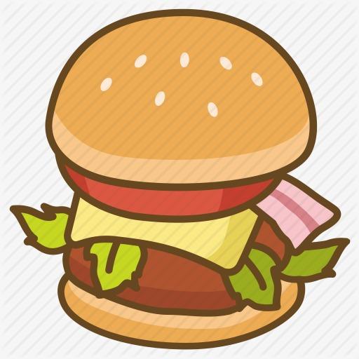 图片 卡通背景 > 【png】 卡通汉堡  分类:手绘动漫 类目:其他 格式