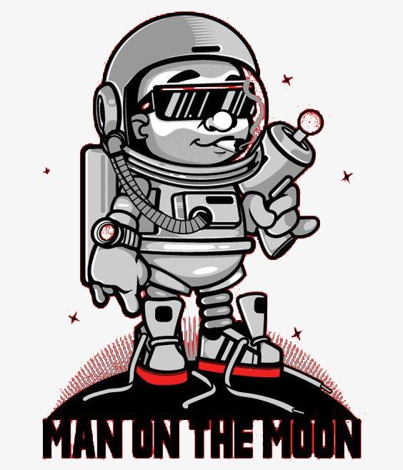 图片 > 【png】 太空人  分类:手绘动漫 类目:其他 格式:png 体积:0.