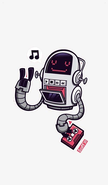 圖片 機器人主圖 > 【png】 機器人  分類:手繪動漫 類目:其他 格式:p