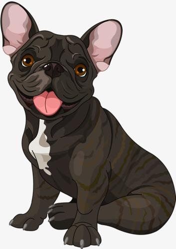 图片 > 【png】 卡通狗  分类:手绘动漫 类目:其他 格式:png 体积:0.