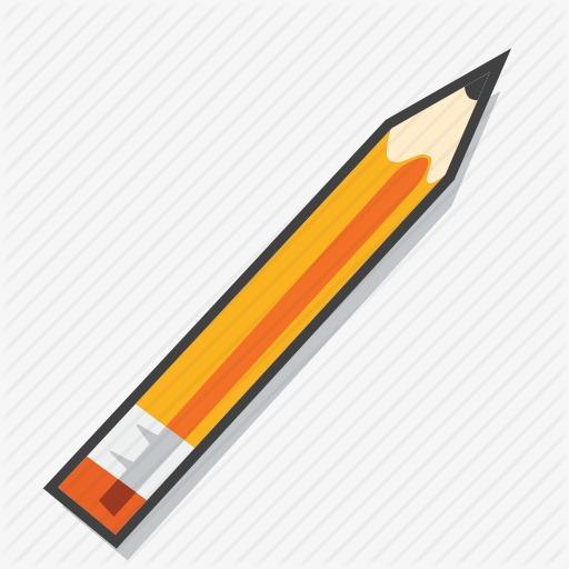 铅笔 写字 画画 学习用品 此素材是90设计网官方设计