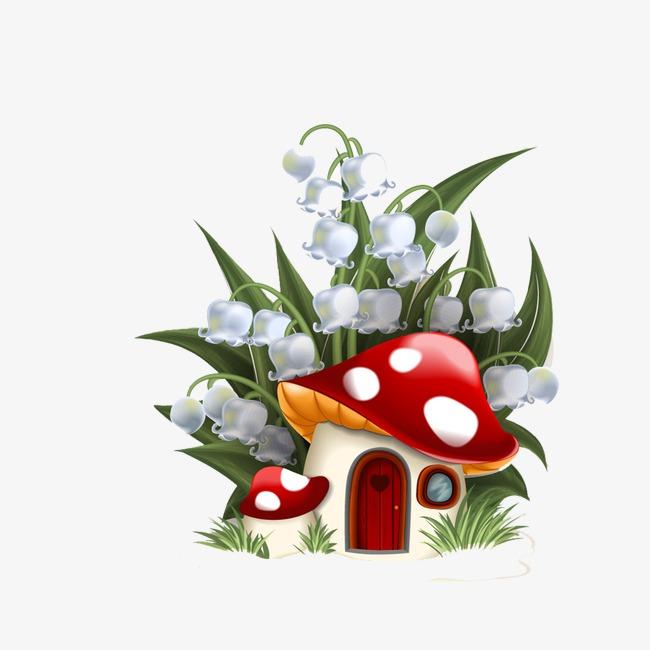 手绘蘑菇素材图片免费下载 高清png 千库网 图片编号3884857