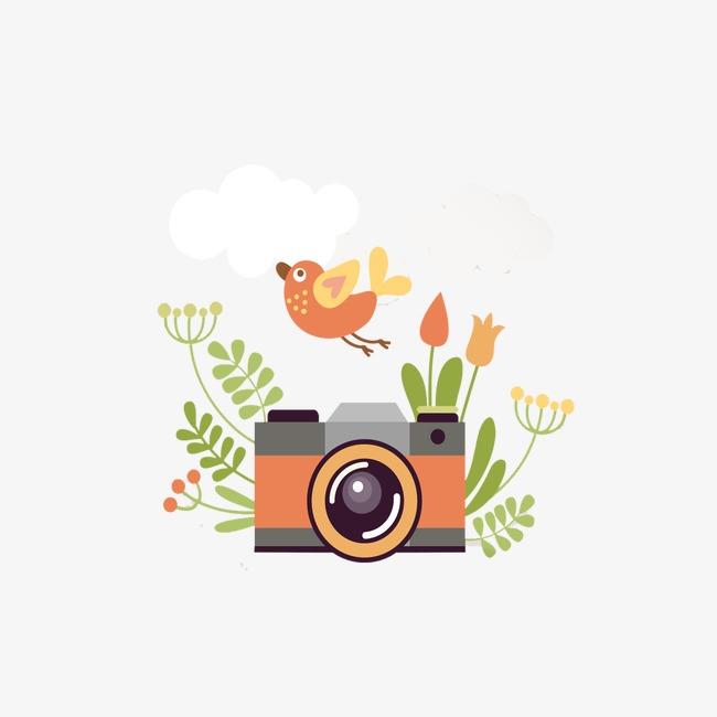 卡通相机素材图片免费下载 高清装饰图案png 千库网 图片编号3884884