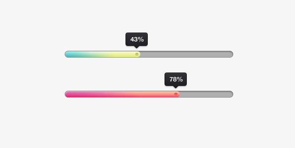 彩色进度条
