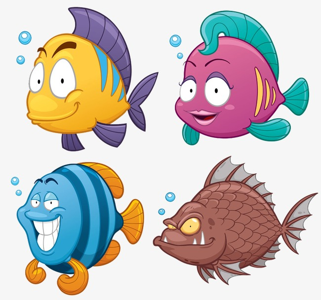 可爱小鱼合集