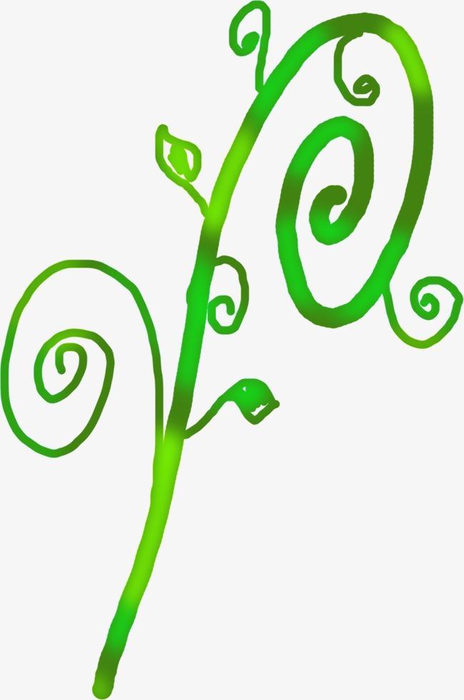 怎么画圆形树藤
