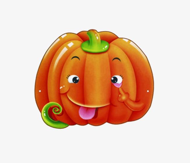 手绘水果卡通水果 南瓜             此素材是90设计网官方设计出品