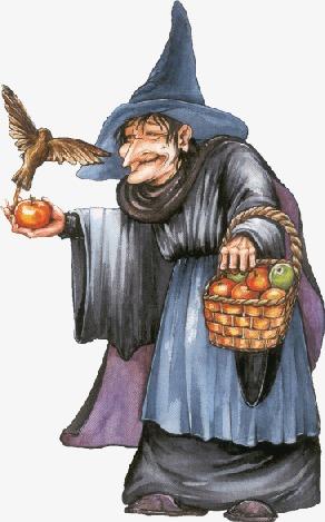 巫师 魔女 童话 老婆婆             此素材是90设计网官方设计出品