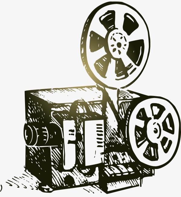 矢量手绘电影播放机