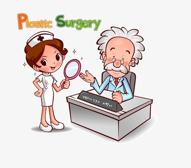 卡通医生人物图片