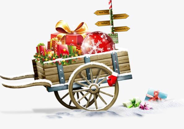 圣诞节小马车