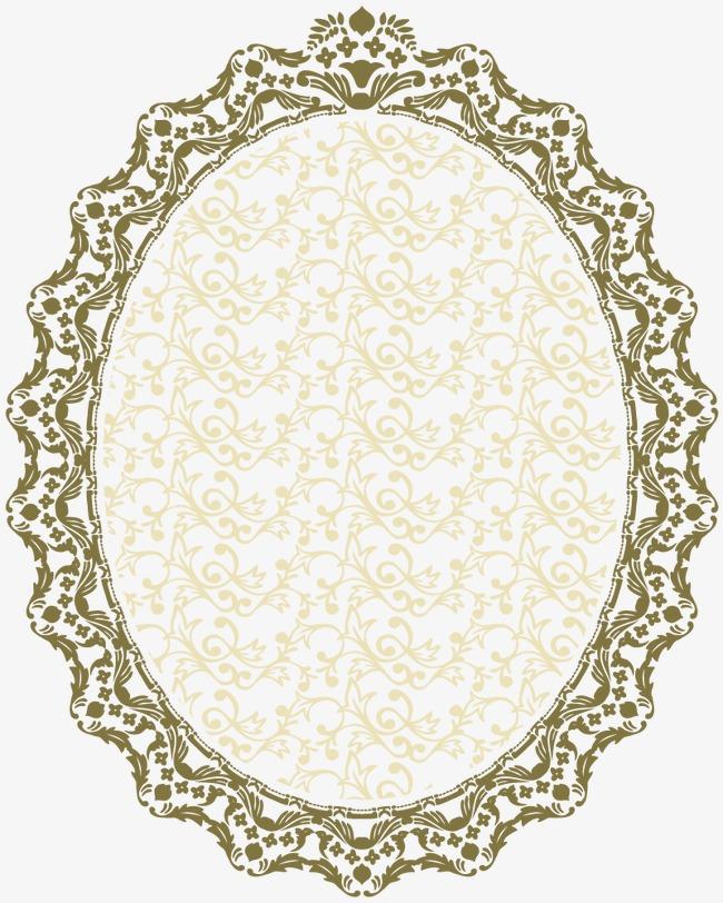 欧式镜子花边边框