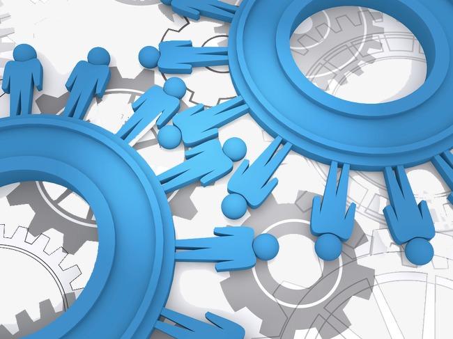 创意 卡通 手绘 齿轮 蓝色齿轮             此素材是90设计网官方