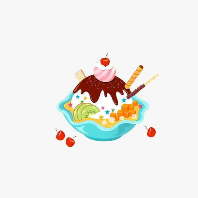 图片 > 【png】 诱人美味冰淇淋  分类:手绘动漫 类目:其他 格式:png