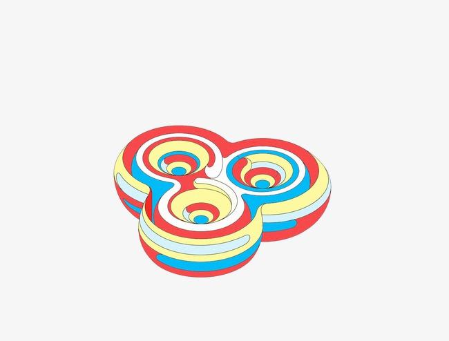 创意抽象几何物体【高清装饰元素png素材】-90设计