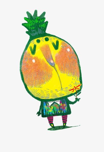 手绘菠萝先生