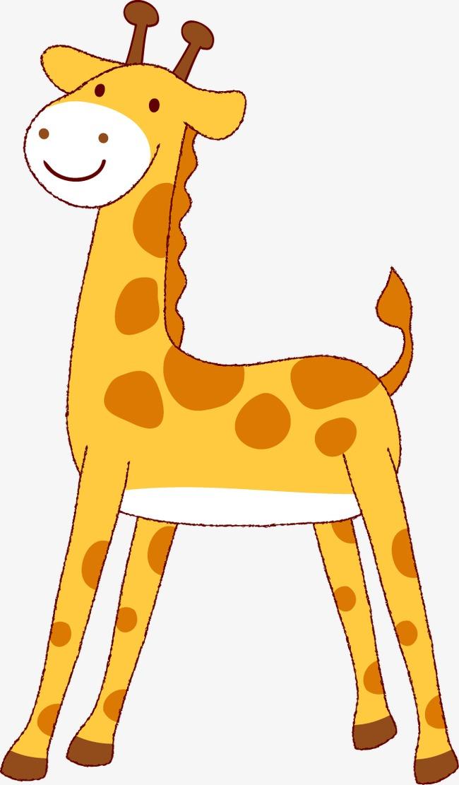 长颈鹿 可爱 卡通 动物             此素材是90设计网官方设计出品