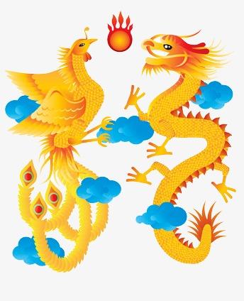 图片 > 【png】 龙凤戏珠  分类:手绘动漫 类目:其他 格式:png 体积