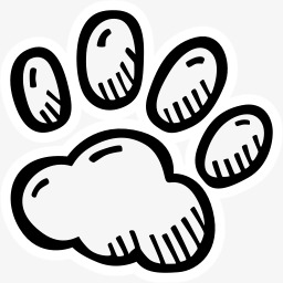 简笔画动物脚素材图片免费下载 高清卡通手绘png 千库网 图片编号4069610
