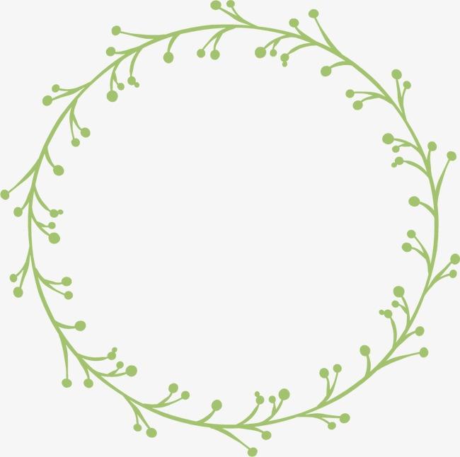 花环花边手绘边框