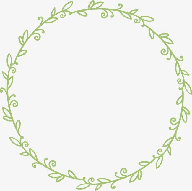 花环花边手绘边框素材图片免费下载 高清装饰图案png 千库网 图片编号4082441图片