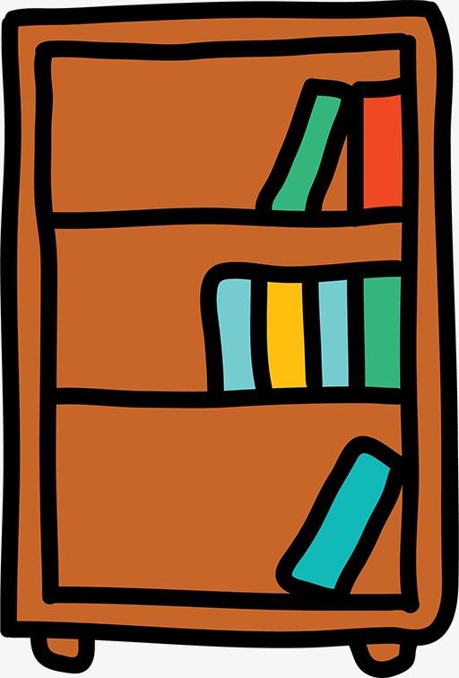 简笔画书柜图片