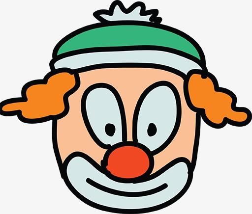 图片 挂画展板 > 【png】 简笔画小丑  分类:手绘动漫 类目:其他 格式