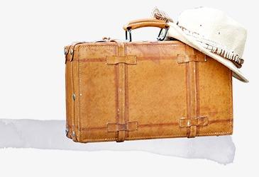 旅行箱png素材-90设计