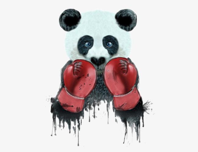 图片 > 【png】 拳击手熊猫  分类:手绘动漫 类目:其他 格式:png 体积
