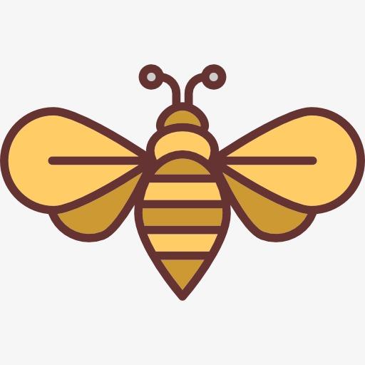 图片 蜜蜂卡通 > 【png】 蜜蜂  分类:装饰元素 类目:其他 格式:png图片