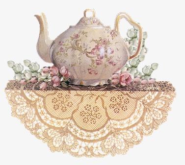 茶壶欧式蕾丝桌布