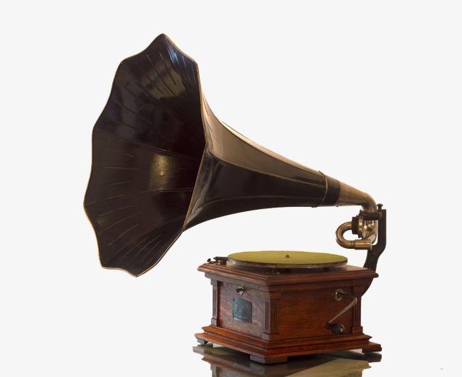 复古留声机png素材-90设计