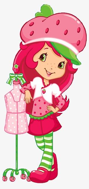 创意 卡通 手绘 可爱 草莓帽子女孩创意 卡通 手绘 可爱 草莓帽子图片