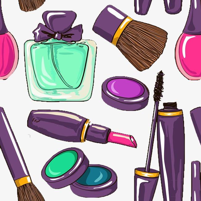 手绘化妆品