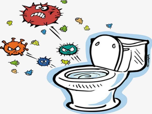 卡通病菌 马桶病菌 病毒 流感病毒 细菌             此素材是90设计图片