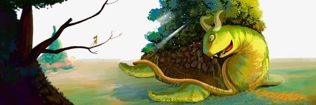 图片 > 【png】 森林中的怪物  分类:店铺首页 类目:其他 格式:png