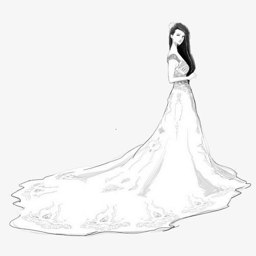 画婚纱_婚纱设计图