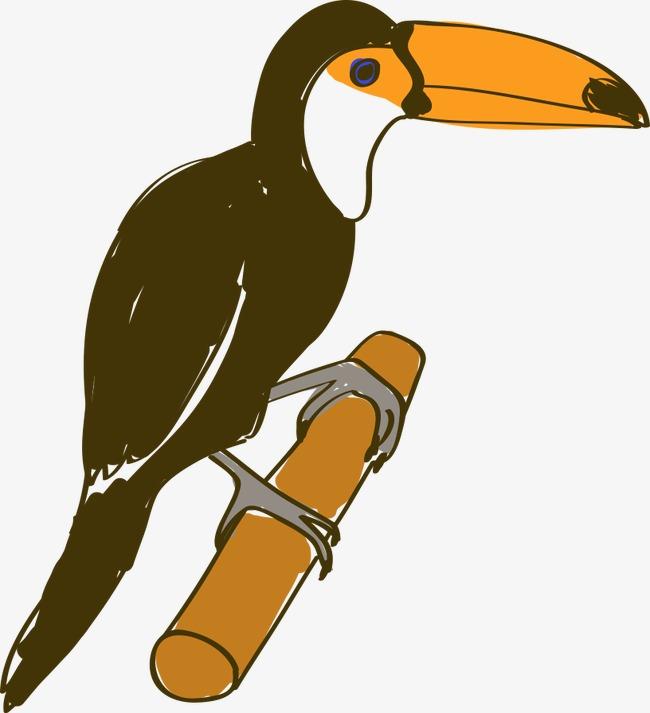 图片 > 【png】 手绘卡通鸟儿
