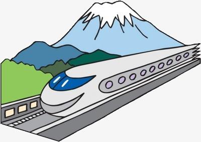 图片 其他 > 【png】 手绘高铁