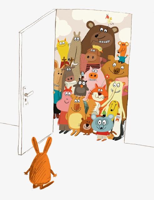 图片 > 【png】 动物大聚会  分类:手绘动漫 类目:其他 格式:png 体积