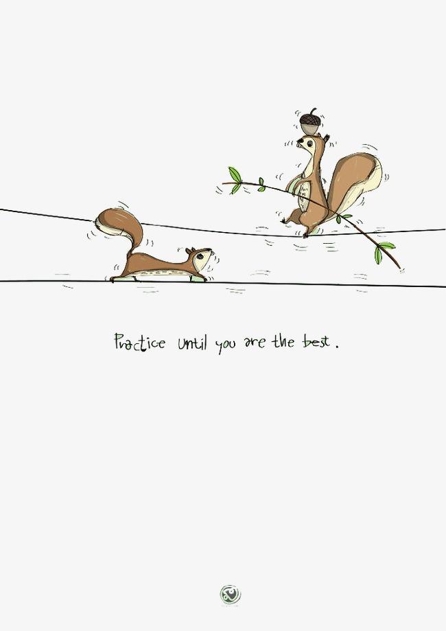 萌系卡通小动物