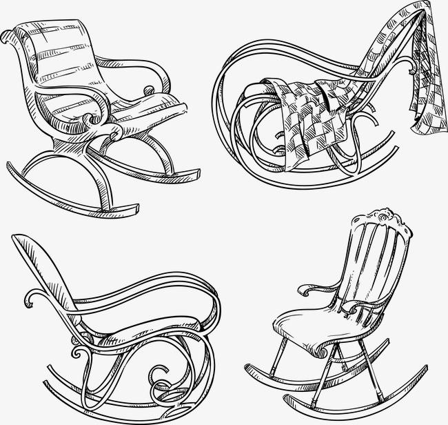 手绘老爷椅子