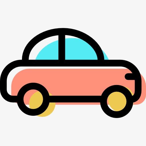 卡通汽车 卡通小汽车 可爱小汽车 汽车 小汽车 手绘小汽车