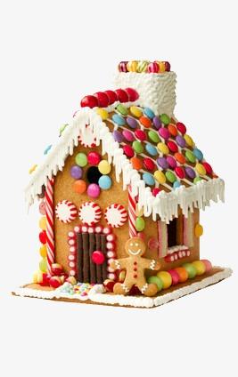 蛋糕做成的房子图片