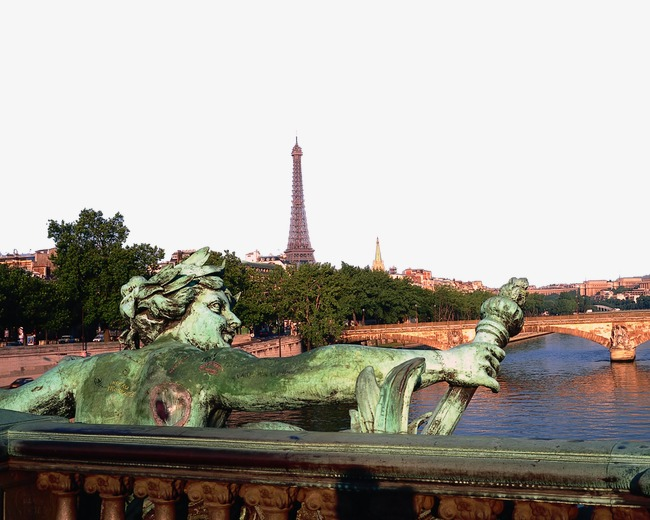 法国巴黎城市风景